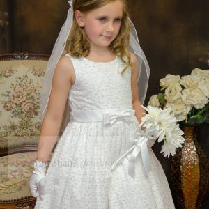 Cotton First Communion Dress Made in the USA