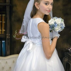 Satin and Tulle First Holy Communion Dresses for Sale