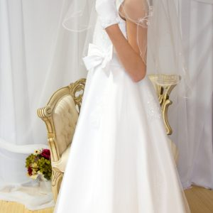 Designer First Communion Dresses Beaded Organza