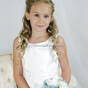 Embroidered Shamrocks First Communion Dresses