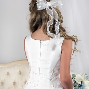 Irish First Communion Headpiece with Shamrocks