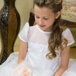 Irish First Communion Tiara and Headpieces