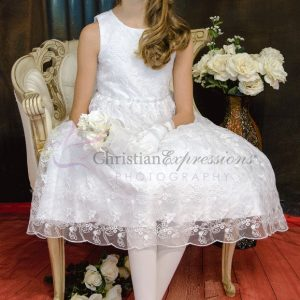 Lace Skirt First Communion Dresses