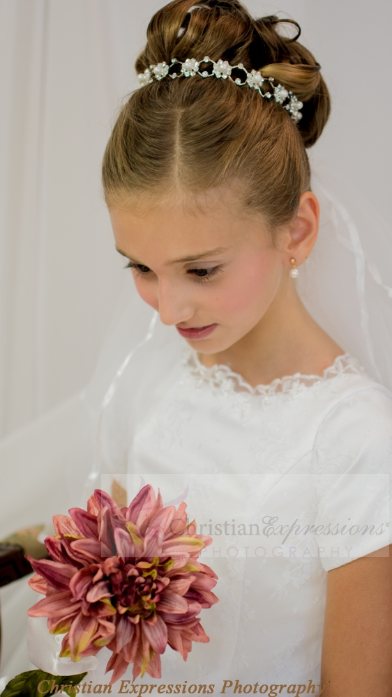 Pearl First Communion Headpiece