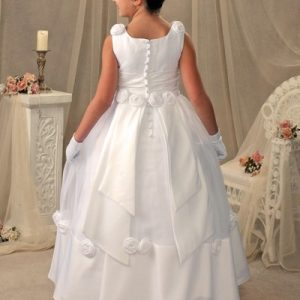 Satin Long Length First Communion Gown