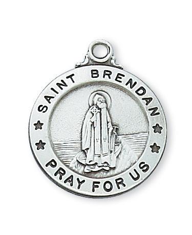 St. Brendan Catholic Medal