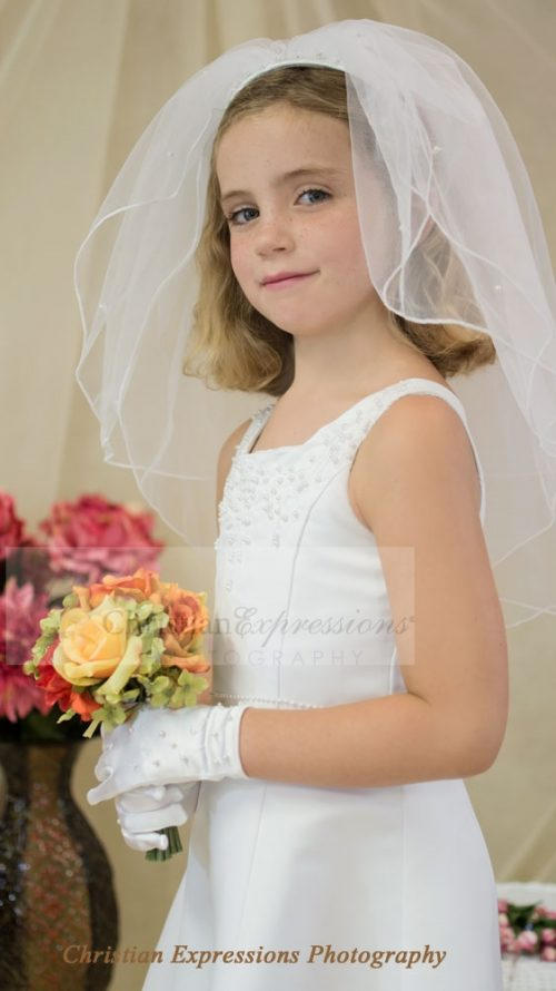 First Communion Dresses - Veils Clearance Sale