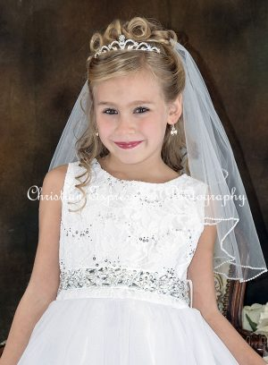 First Communion Crown Tiara 4415