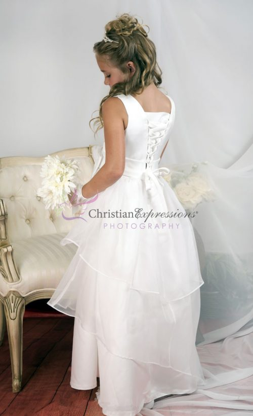Multi Layer Organza First Communion Dress