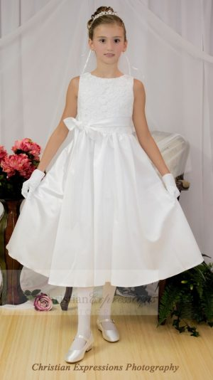 crochet first communion dress