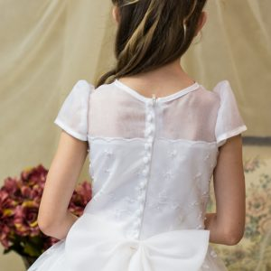 first communion dresses with shamrocks