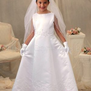 first communion irish shamrock first communion dress