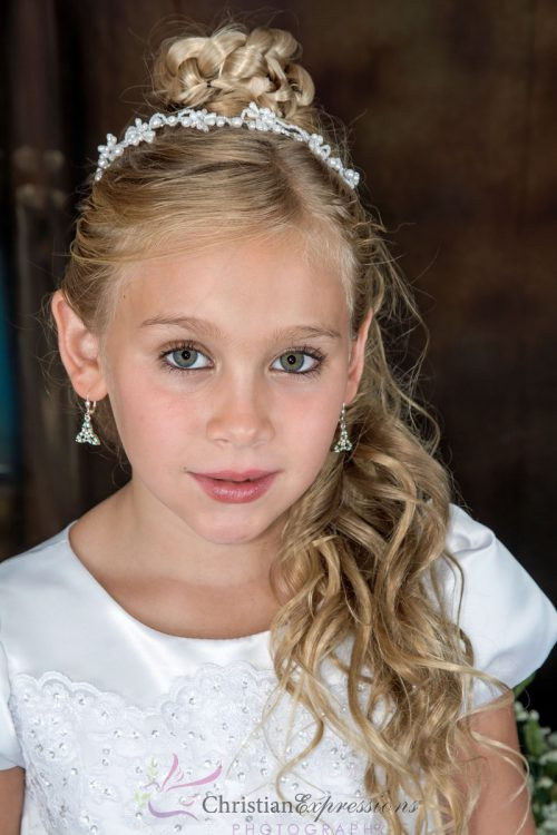 first communion pearl tiara
