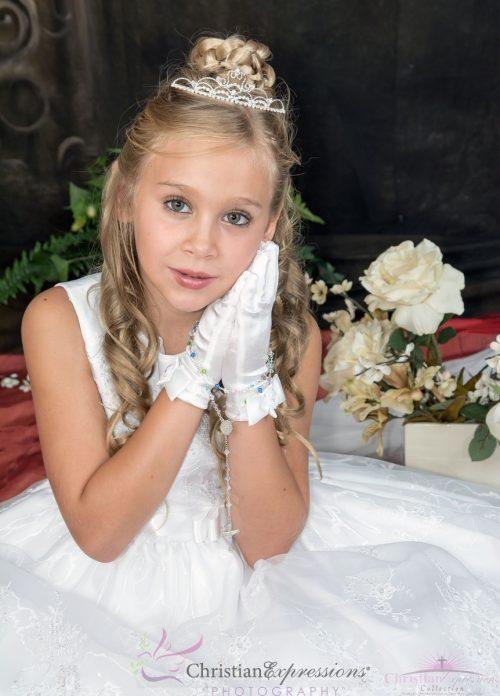 first communion tiara crown