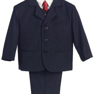 Boys First Communion Suit Navy Blue