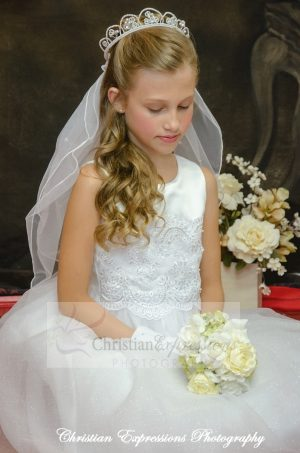 white first communion dresses size 6