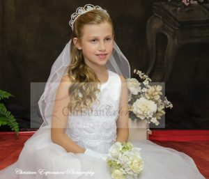 white first communion dresses size 7