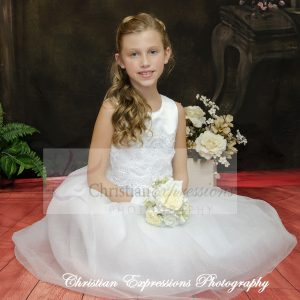white first holy communion dresses size 7