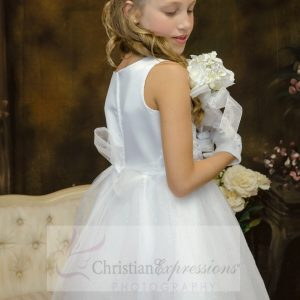 white first holy communion dresses size 8