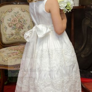 Silk First Communion Dress size 6
