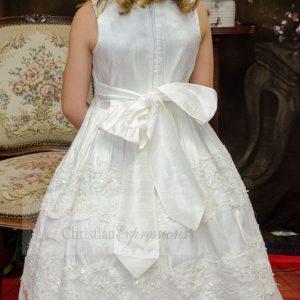 Silk First Communion Dresses size 7