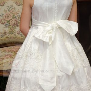Silk First Communion Dress size 8