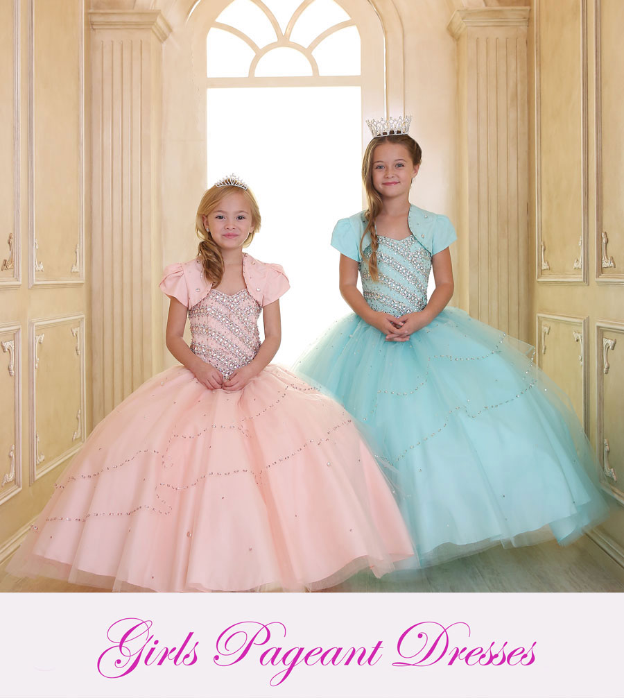 Girls Pageant Dresses