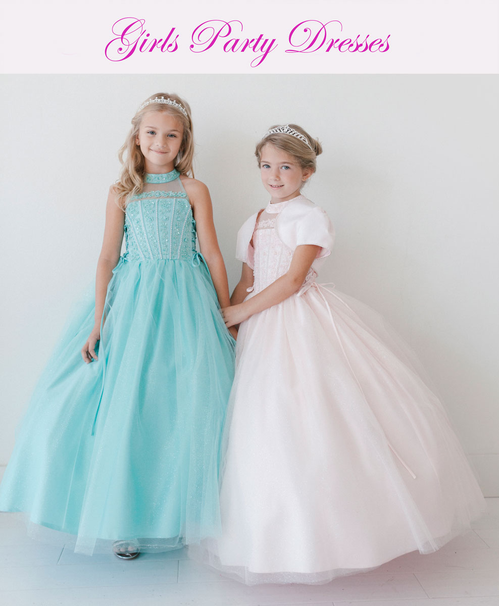 Girls Party Dresses – FirstCommunions.com