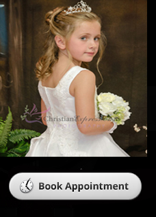 first communion dress appointment