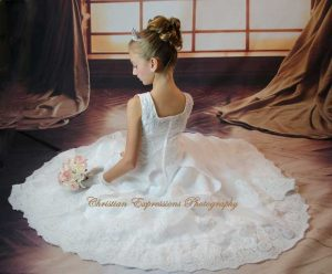 beautiful first communion dresses for girls