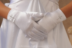 First Communion Gloves