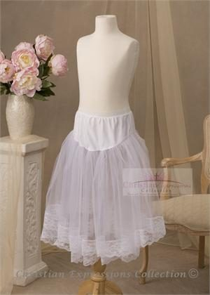 First Communion Petticoats