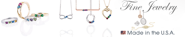 fine jewelry made in the USA
