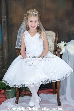 Lace First Communion Dresses