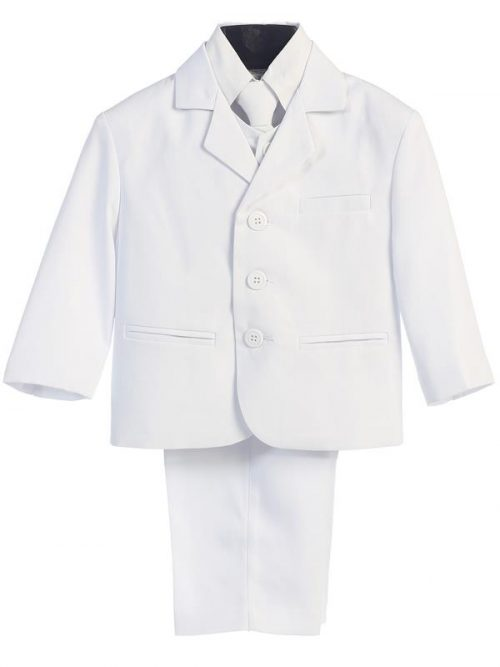 Boys White First Communion Suit