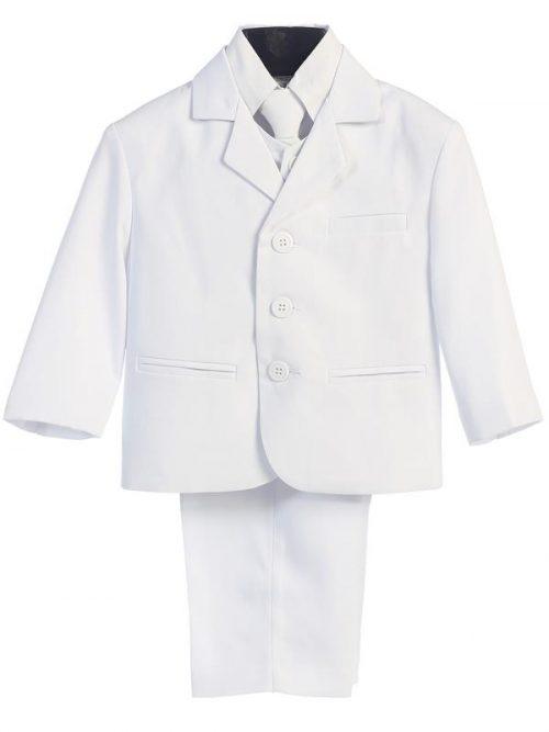 Boys White First Communion Suit