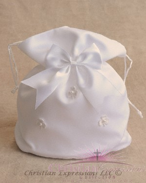 Irish Shamrocks First Communion Purses
