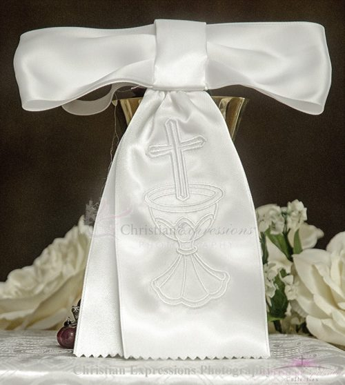 Boys First Communion Armband with Cross & Chalice