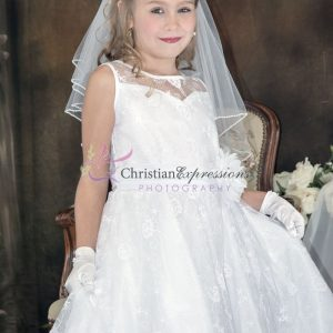 Couture Designer Lace First Communion Dress