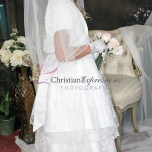 Double-Layer-Embroidered-Skirt-First-Communion-Dress-with-Jacket-Size-12