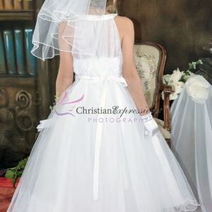 Halter Top First Communion Dress Couture