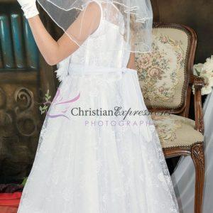Lace First Communion Dress Size 10