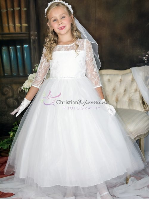 Long Length First Communion Dresses