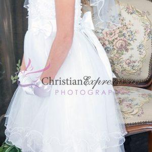 Tea Length Ballerina First Communion Dress Size 10