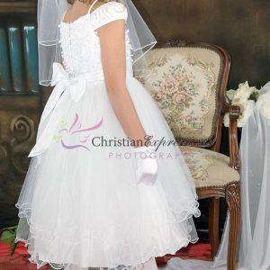 Tea Length Ballerina First Communion Dress Size 12