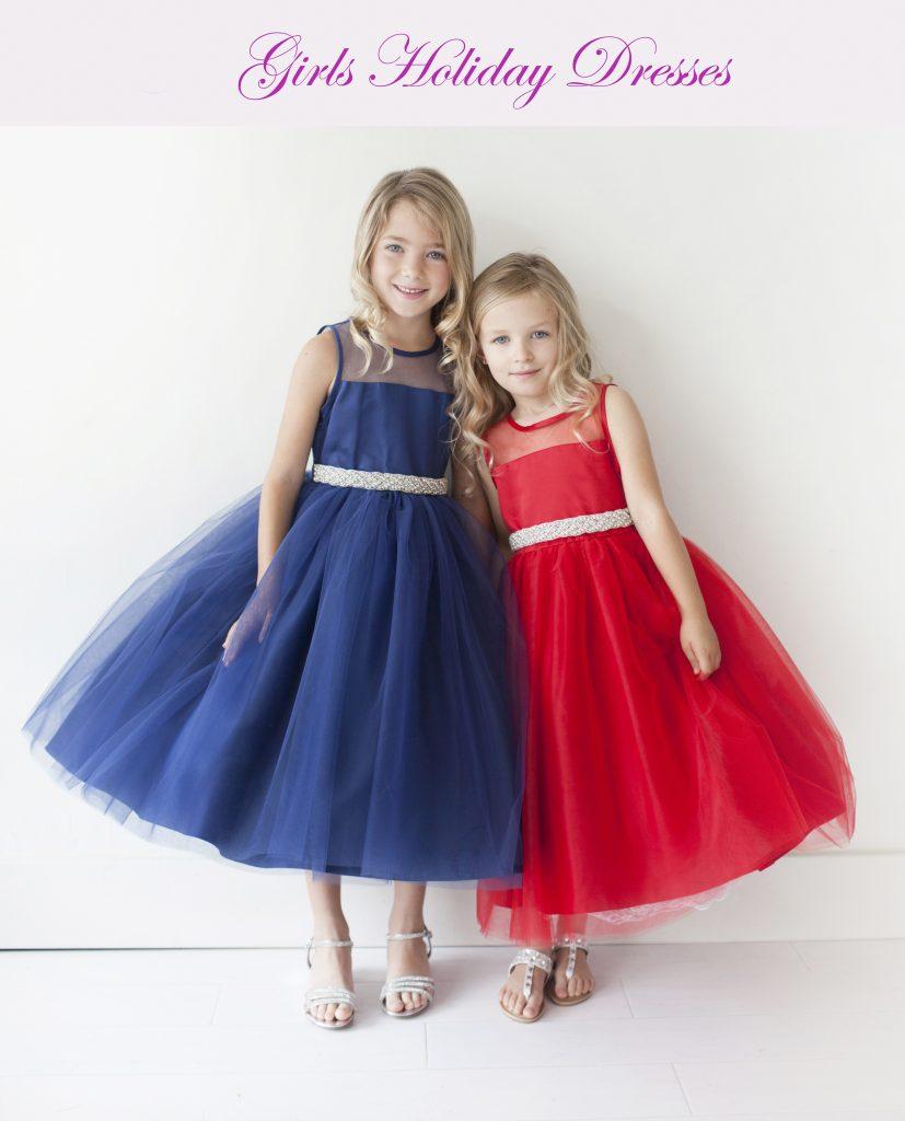 Girls Holiday Dresses