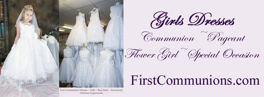 Girls First Communion Dresses