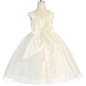 Ivory First Communion Dress Ballerina
