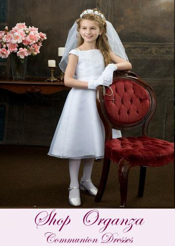 Organza First Communion Dresses