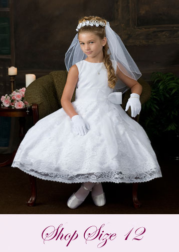 First Communion Dresses Size 12